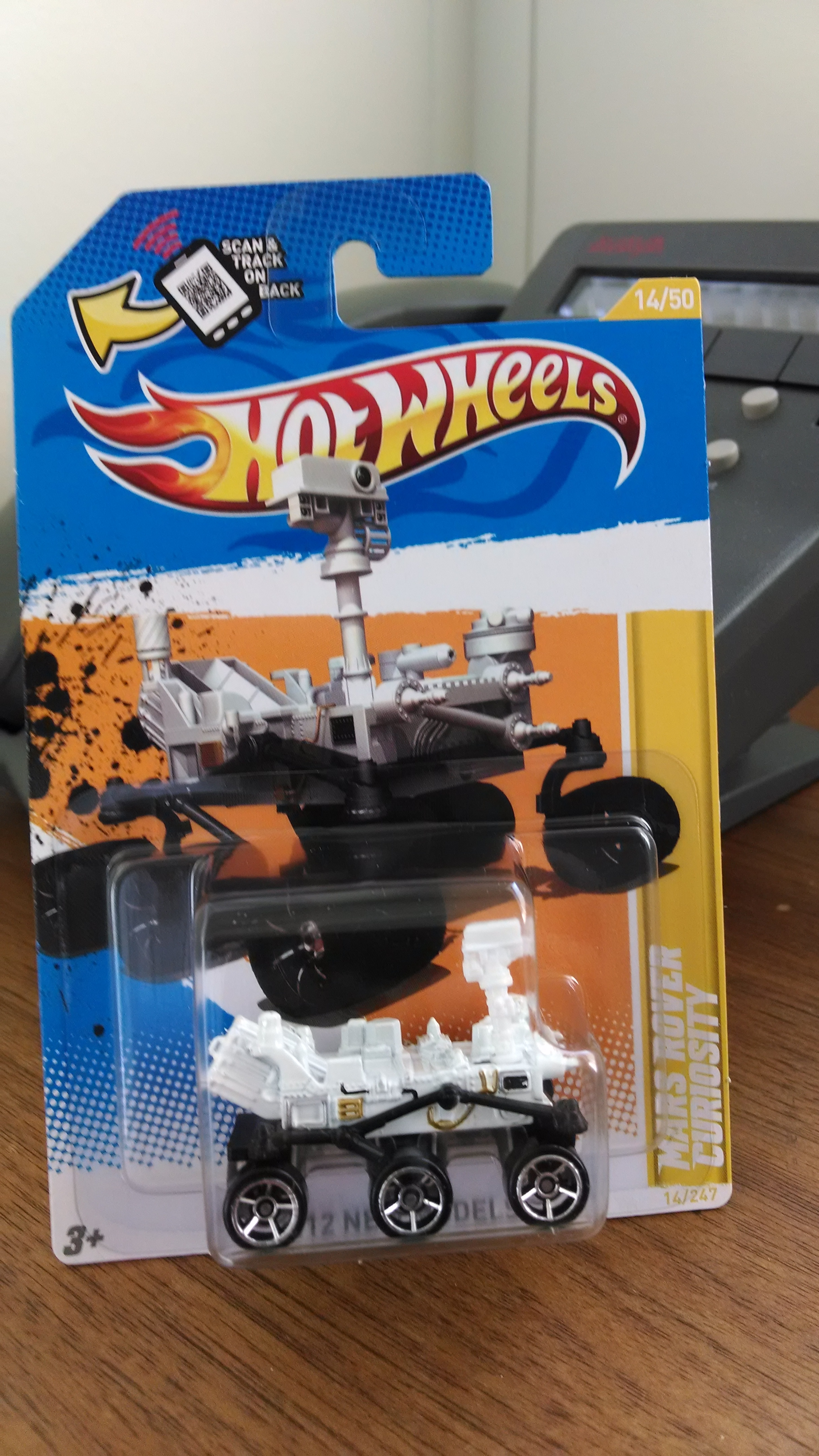 Yes, that is a Hot Wheels Mars Rover