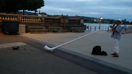 A typical inhabitant of Zurich.